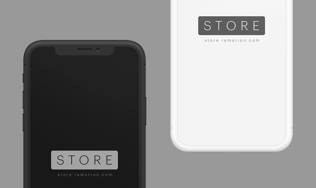 freeui.design_iphone-x-clay-black-white-frontal-psd